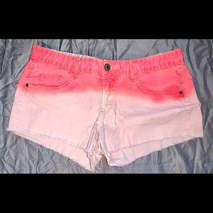 Ombré Summer Jean Shorts